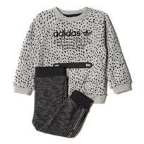 adidas חליפה (4-0 שנים)- אפור