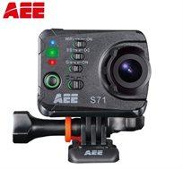 מצלמת אקסטרים 16MP AEE S71, וידאו 4K, זום דיגיטלי 10X, עמידות למים בעומק של 100 מטרים ו-WIFI