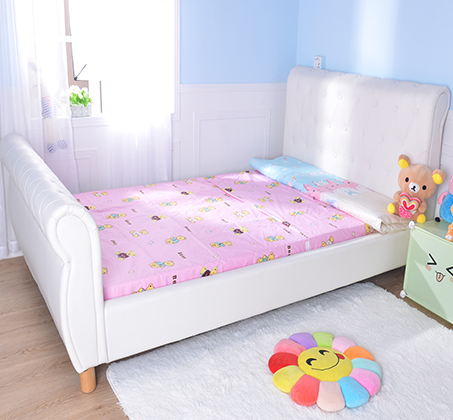 מיטה וחצי/מיטת נוער בשילוב כפתורי קפיטונאז' תואמים דגם נסיכה בצבע שמנת קוקולה - תמונה 6