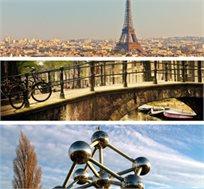 טיול בירות ואגדות! טיול משפחות ל-8 ימים מלאים לפריז-בריסל-אמסטרדם כולל יורודיסני החל מכ-$1075* לאדם!