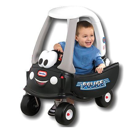מכונית קופה משטרה