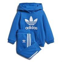 ADIDAS תינוקות// TREFOIL BLUE HOODIE SET