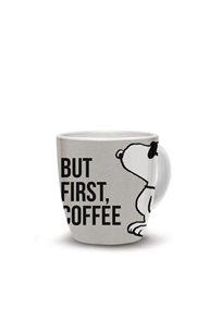ספל But First Coffee