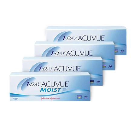 מארז של 24 חבילות למשך שנה לעדשות מגע יומיות 1Day Acuvue Moist רק ₪95 לחבילה!  - משלוח חינם - תמונה 2