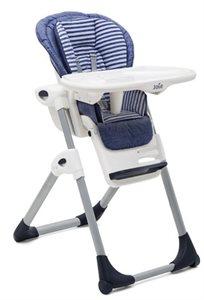 כסא אוכל מפואר לתינוק mimzy lx עם 3 מגשים וריפוד כפול - ג'ינס