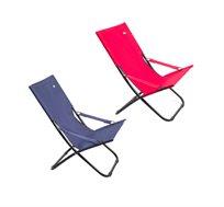 כיסא נמוך מתקפל במגוון צבעים המיועד לים, קמפינג וגינה Australia Camp