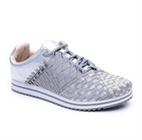 Rock Spring Fitshape - נעל סניקרס לנשים עם בד אלסטי קלוע