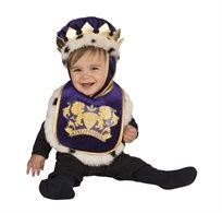 סינר המלך והכתר פעוטות לגילאי 0-12 חודשים