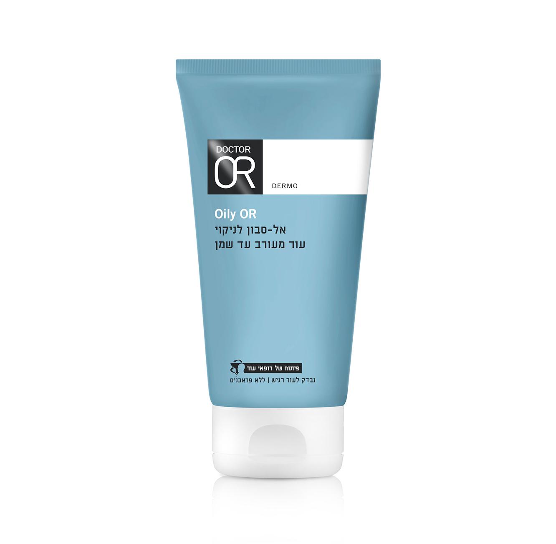 אל-סבון עדין לעור מעורב עד שמן