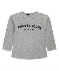 חולצת פרנץ טרי נופים דפוס פרווה