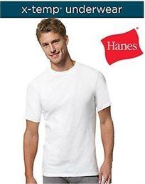 סט 3 חולצות מסדרת X-TEMP מבית Hanes, מתאים עצמו לטמפרטורת הסביבה ולפעילות הספורטיבית