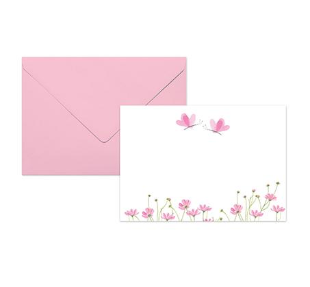 סט 10 אגרות מאויירות ומעטפות צבעוניות במארז Turnowsky - תמונה 2