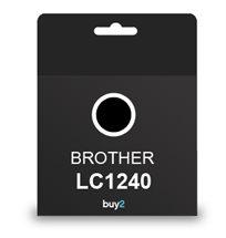 על איכות לא מתפשרים! ראש דיו תואם BROTHER LC1240 צבע שחור, דיו איכותי למדפסת