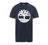 טישרט קצרה Timberland לגברים בצבע כחול נייבי