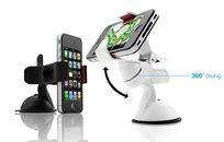 מעמד קליפס חדשני לרכב, המתאים לכל סוגי הסמארטפונים וה-GPS - משלוח חינם!