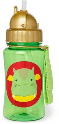 בקבוק עם קש, דרקון - Skip Hop