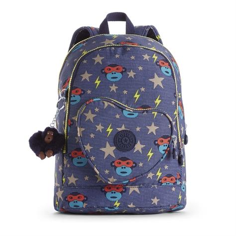 תיק גב לילדים Heart Backpack - Toddlerheroהדפס וואו כחול