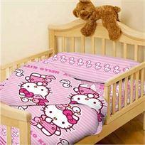 סט מצעים למיטת מעבר/תינוק 100% כותנה סאטן