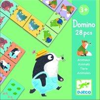 משחק דומינו - חיות חמודות, Djeco