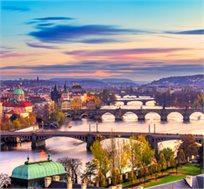 """טיול מיני מאורגן לצ'כיה כולל טיסות ו-5 ימי טיול מאורגן ע""""ב א.בוקר גם בחנוכה החל מכ-$343* לאדם!"""