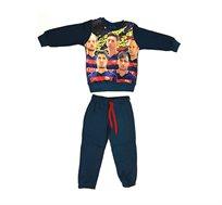 חליפת פוטר לילדים ריאל ממותגת מדריד או ברצלונה