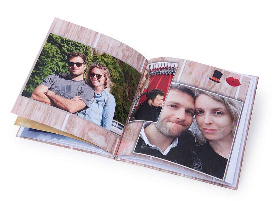 אלבום מרובע 15X15 כרוך בכריכה קשה 32 עמודים  - תמונה 4