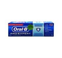 """10 יחידות משחת שיניים אורל בי Pro Expert מנטה מעודן 75 מ""""ל"""