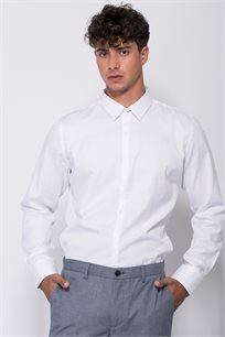 חולצת אריג טקסטורה אלגנטית