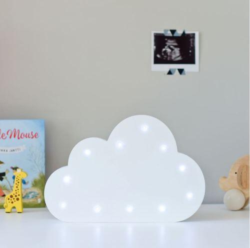 מנורת לילה מעוצבת ענן לחדר ילדים