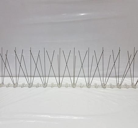 סט 5 דוקרני יונים עשוי מנירוסטה 2.5 מטר