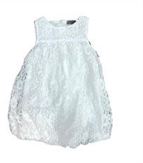 ORO אורו שמלת תחרה(3 חודשים-3שנים) - לבן