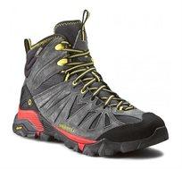 נעלי הליכה וטיולים לגבר MERRELL דגם J35329 - אפור/שחור/אדום/צהוב