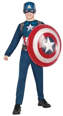 קפטן אמריקה פרומו כולל מגן ענק