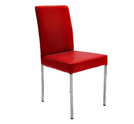 כיסא מעוצב מרופד דמוי עור לשימוש במטבח ובחדרי עבודה במגוון צבעים לבחירה - תמונה 2