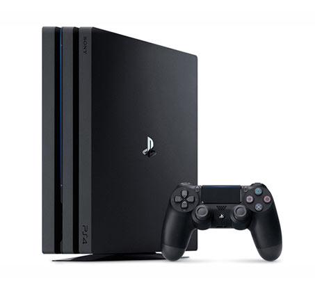 קונסולה Playstation 4 PRO 1TB תומך 4K