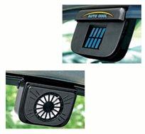 נכנסים לרכב קריר בקיץ הלוהט! מאוורר סולארי לקירור תא הנוסעים היונק את האוויר החם שברכב בזמן החנייה