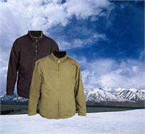 ג'קט פליז דו צדדי CAMPTOWN דגם MARINE מבודד טמפרטורה ומתאים לגברים ולנשים