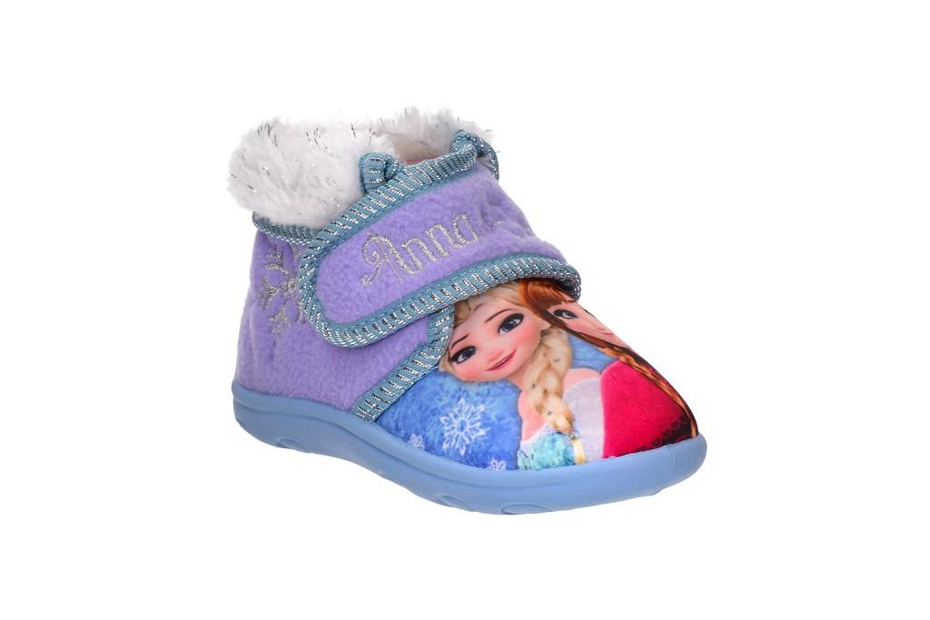 נעלי בית גבוהות אנה ואלזה