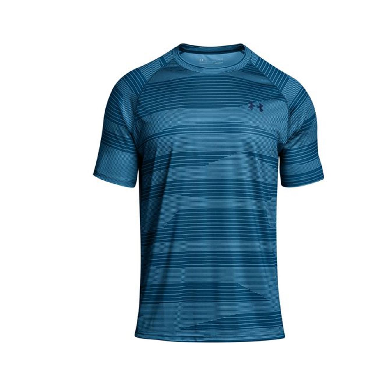 חולצת אימון לגברים Under Armour - צבע כחול