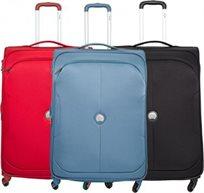 סט 3 מזוודות בד Delsey U-Lite Classic