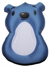 צפטף - כרית אמבטיה לתינוק עם לולאת תליה לייבוש - דובי כחול