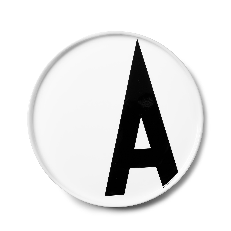 Design Letters// Aj Porcelain Plates A