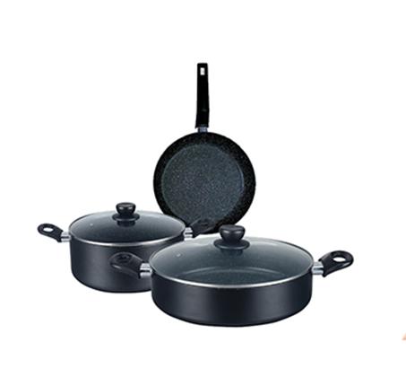 סט בישול 5 חלקים נון סטיק מתאים לכל סוגי הכיריים
