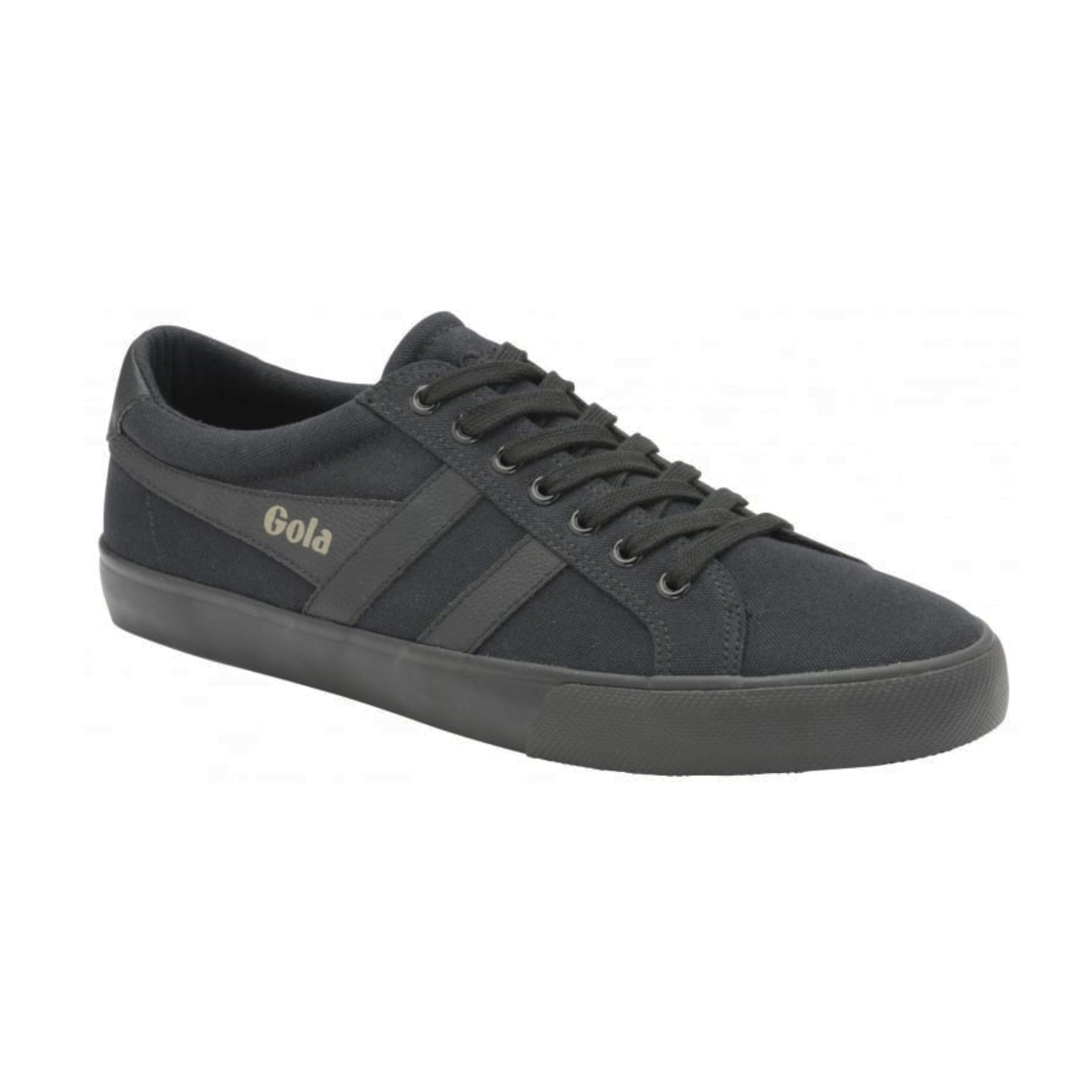 Gola Varsity Cma331 - נעלי סניקרס בעיצוב רטרו בצבע שחור