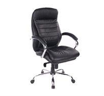 כסא מנהלים אורטופדי מפואר ויוקרתי מדגם אוקספורד עם מושב רחב ומפנק