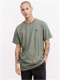 Thrills גברים // Destination Merch Fit Tee / Army Green