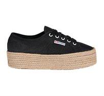 נעלי סניקרס לנשים SUPERGA דגם 2790 - שחור