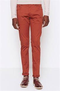 מכנס בד לגבר DEVRED דגם 4069039 בצבע כתום
