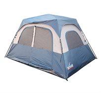 אוהל ל-6 אנשים עם מנגנון פתיחה מהירה ללא צורך בהשחלת המוטות ובבנייתם OUTDOOR REVOLUTION