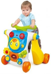 הליכון שהופך לבימבה 2 ב 1 Ride On רובוט מבית Weina